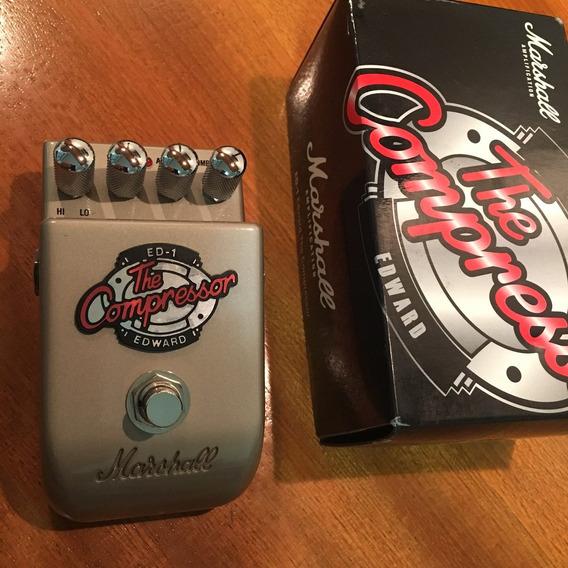 Pedal Guitarra Marshall Compressor