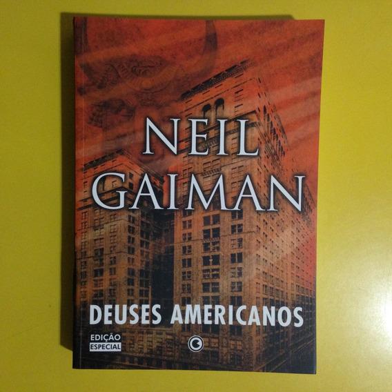 Livro Deuses Americanos - Neil Gaiman