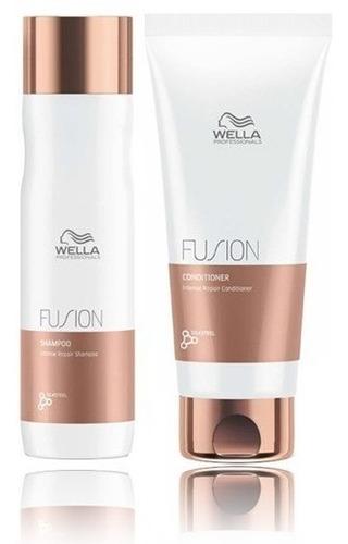 Wella Kit Fusion Sh 250 Ml + Cond 200 Ml  Lançamento Com N/f