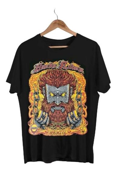 Camiseta Estampada Barba Rubra Voracity Tam: M 100% Algodão