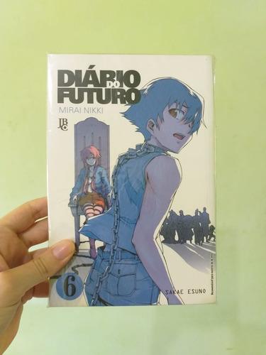 Mangá Mirai Nikki Diário Do Futuro Volume 6