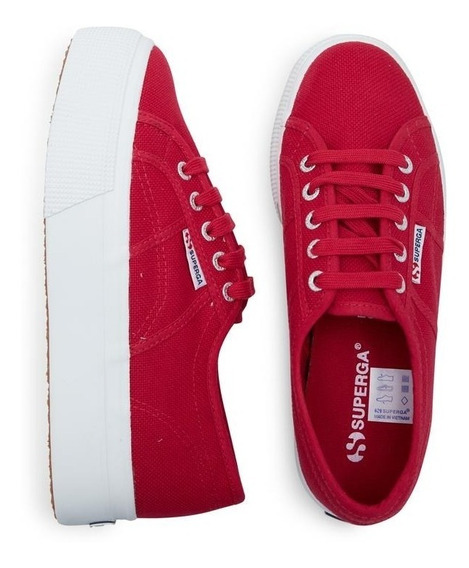 Superga 2790 Cotw Linea Up And Down Cerise