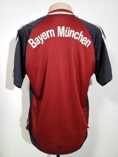 Camisa Futebol Bayern Munique Alemanha 2001 Home adidas M