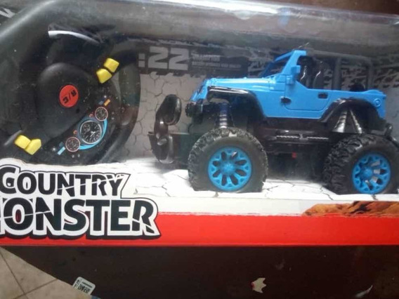 Jeep Para Niños Todo Terreno A Control Remoto Con Pilas
