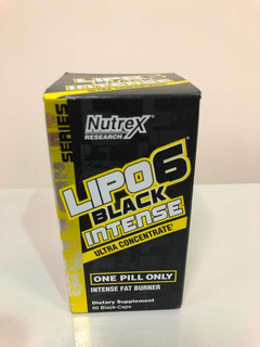 Nutrex Lipo-6 Black Intense Ultra Concentrate- Formula Eua