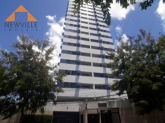 Apartamento Com 2 Quartos Para Alugar, 56 M² Por R$ 1.638/mês - Torre - Recife/pe - Ap2102