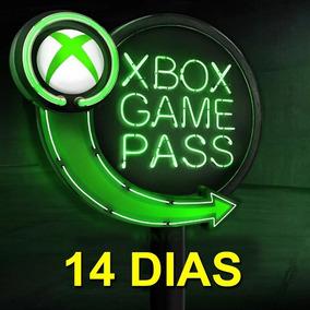 Game Pass 14 Dias Xbox One - 100% Original - Envio On-line.