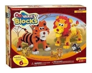 Variety Blocks 3d Wildcats 335 Piezas Rompecabezas Wabro