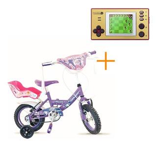 Bicicleta Top Mega Princess 16 Niñas + Microboy De Regalo!