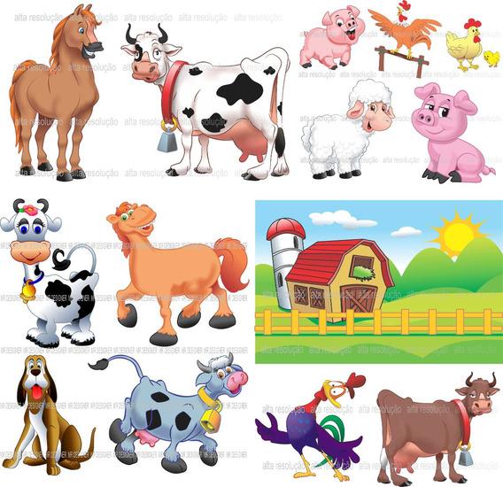Vetores E Imagens Da Fazendinha Fazenda - Png E Corel