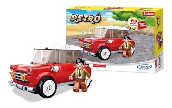 Bloco De Encaixe Retrô Mini Carro 150 Peças - 01332 Xalingo