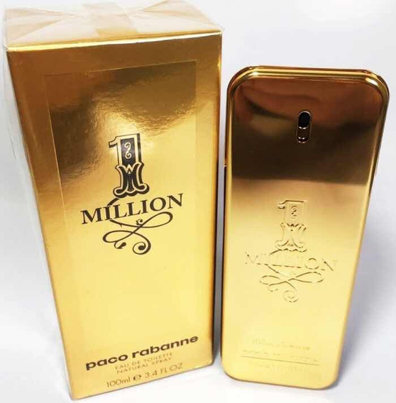 Paco Rabanne 1 Million Masculino Edt 100ml