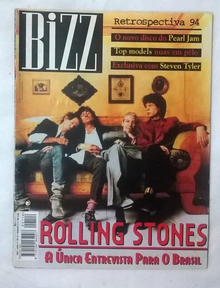 Bizz Revista 114 Rolling Stones Steven Tyler Cidade Negra Se