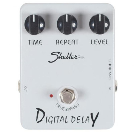 Pedal Shelter Digital Delay Sdd Para Guitarra