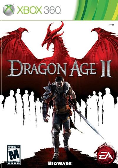 Dragon Age Ii 2 + Brinde P/ Xbox 360 Original Frete Cr $14