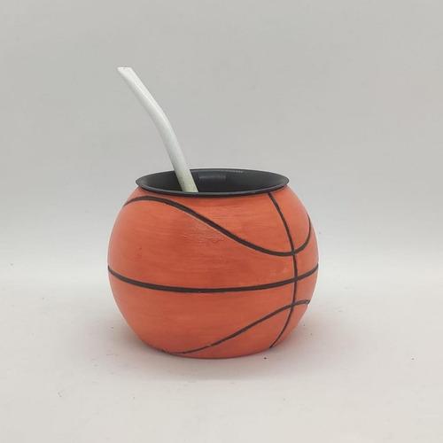 Mate Pelota De Basketball Impreso En 3d