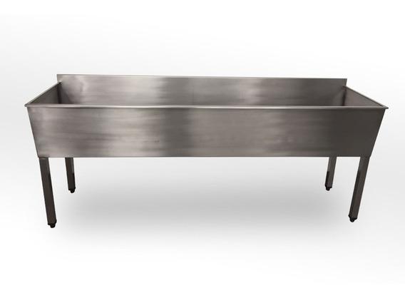 Tanque Industrial 2mts Aço Inox 304 Durabilidade
