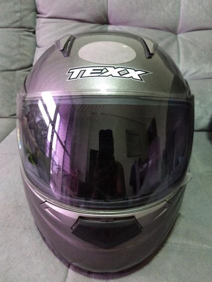 Capacete De Moto Articulado Texx Hazy Tam 61