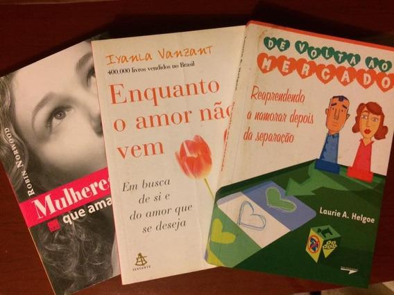 Trio De Livros Relacionamentos