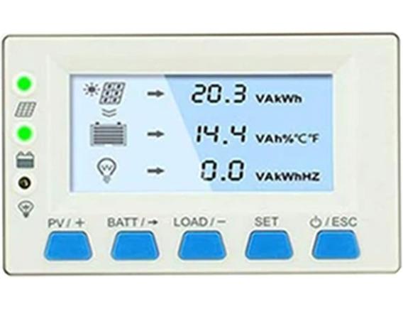 Modulo Display Ds2 P/ Controlador Carga Epever Mppt Triron