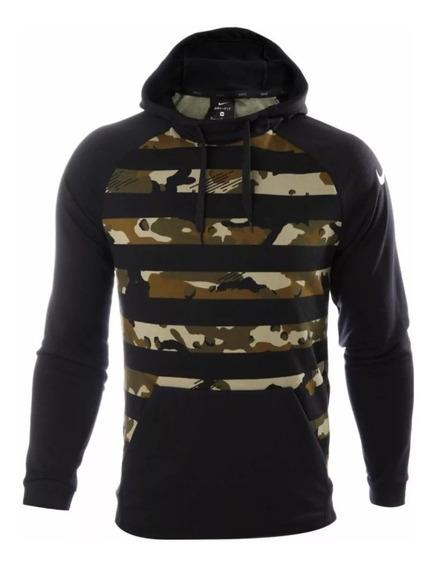 Nike Sudadera Dry Pullover Camuflaje Hoodie Camo