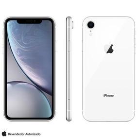 iPhone Xr Branco, Com Tela De 6,1 , 4g, 256gb 12mp Mryl2bz/a
