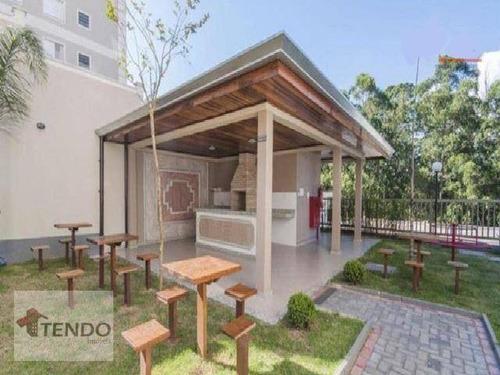 Imagem 1 de 15 de Apartamento Com 2 Dormitórios À Venda, 47 M² Por R$ 215.000 - Parque São Vicente - Mauá/sp - Ap2669