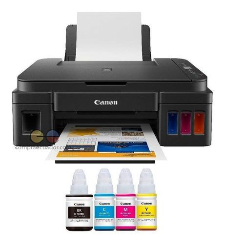 Canon Impresora Multifunción Sistema Tinta Continua G2100