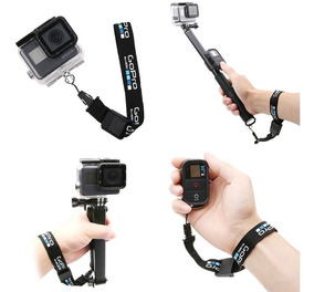Alça De Mão E Pulso Para Câmeras De Ação Gopro Black 5 6 7