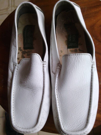 Zapato Sport Blanco Caballero