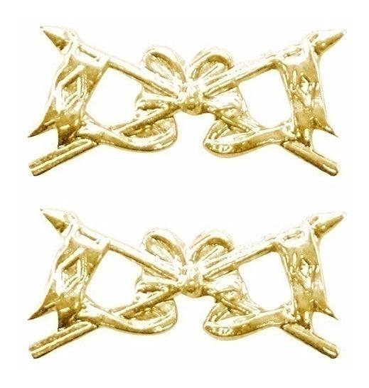 Distintivo Metal Cavalaria (par)