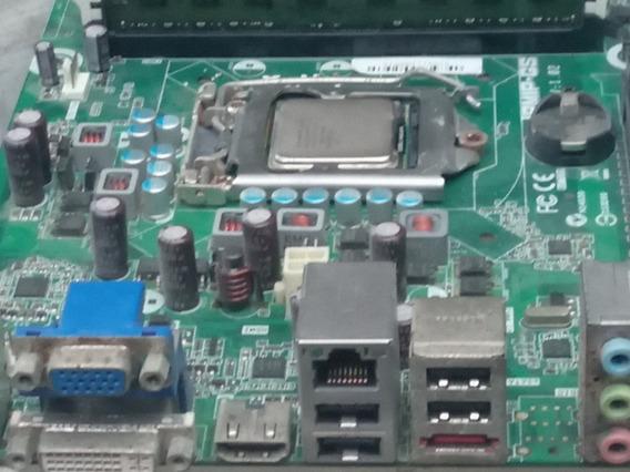 Processador Intplaca Mae Sket 1156 Defeito Com 4gb Proces I5