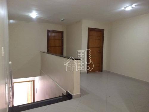 Apartamento Com 2 Dormitórios À Venda, 90 M² Por R$ 200.000,00 - Lindo Parque - São Gonçalo/rj - Ap2858