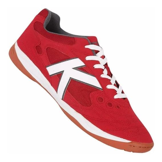 Tenis Futsal Kelme Copa - Vermelha/branca - Original