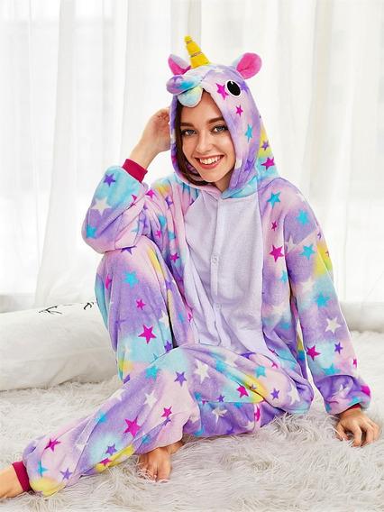 Pijama Onesie Unicornio Estrellas Importada Original