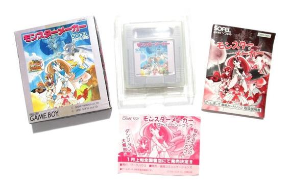 Monster Maker Original Para Nintendo Game Boy