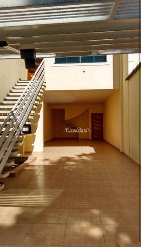 Sobrado Com 3 Dormitórios À Venda, 200 M² Por R$ 890.000,00 - Jardim Virginia Bianca - São Paulo/sp - So0214