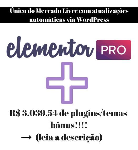 Licença Elementor Pro + Wp Rocket + Temas Premium + Brindes