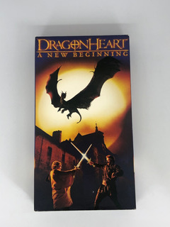 Película Vhs Dragon Heart: A New Beginning- Inglés