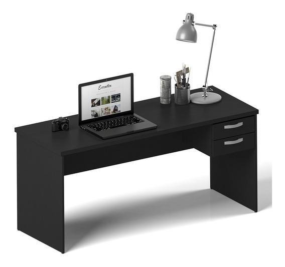 Mesa De Escritório 1.20x60 Com Gaveteiro Tampo 30mm Netmobil