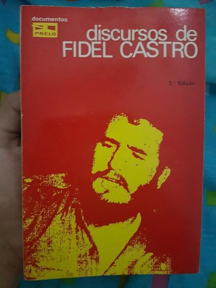 Livro Discursos De Fidel Castro 1973