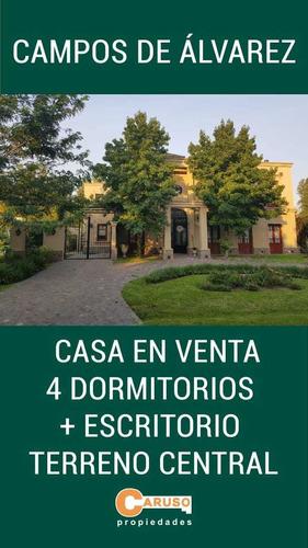 Casa En Campos De Alvarez 400 M2 4 Dormitorios