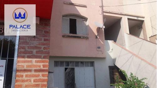 Imagem 1 de 7 de Casa Com 3 Dormitórios À Venda, 182 M² Por R$ 300.000,00 - Centro - Piracicaba/sp - Ca0513
