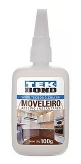 Cola Instatanea Tek Bond Moveleiro 100g Cx C/ 10