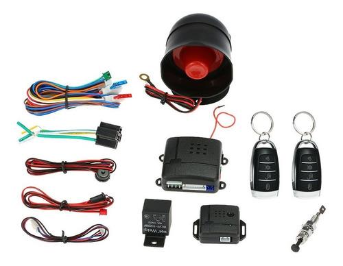 Imagen 1 de 6 de Sistema De Seguridad Universal Para Coche, Alarma Antirrobo