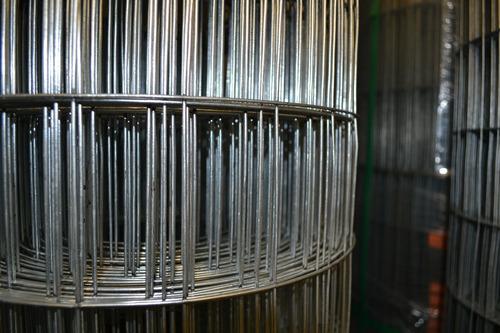Tela Soldada M:5x10cm F:2,00mm H:1,00m C: 25m