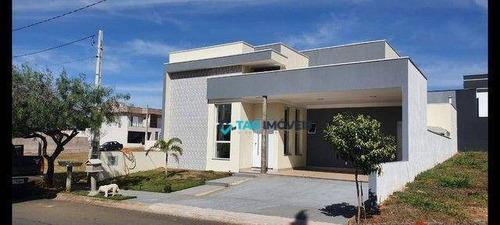 Imagem 1 de 5 de Casa Com 3 Dormitórios À Venda, 160 M² Por R$ 787.500,00 - Condomínio Jardim De Mônaco - Hortolândia/sp - Ca1173