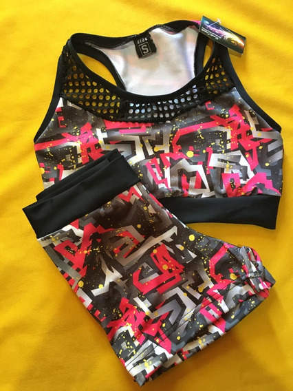 Conjunto Deportivo Top Y Short