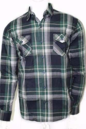 Camisa Social Xadrez Masculina Polo Wear Original P000049485