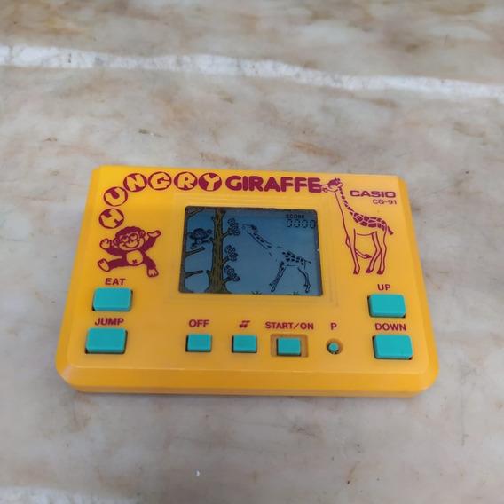 Mini Game Hungry Giraffe Casio Antigo Video Girafa 2512